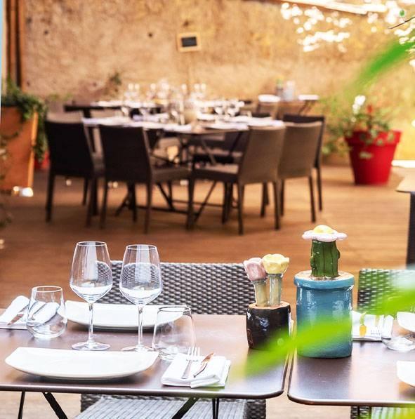 Le restaurant - L'entre pots - Pezenas